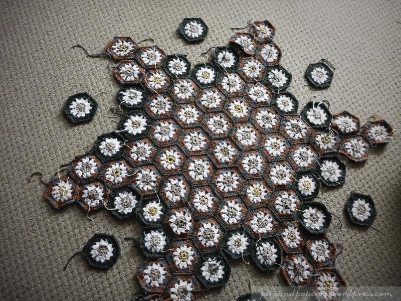 Another Star Anise Blanket ProgressUpdate
