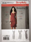 Simplicity 2648 Amazing Fit