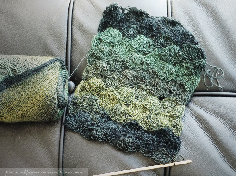 New project: Magical Crochet Scarf ShawlBlanket