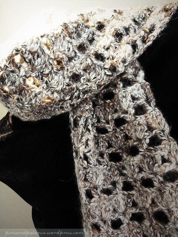 My Handmade Scarf #1: Manly AlpacaCrochet