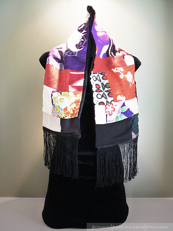 My Handmade Scarf #6: Japan Love