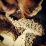 Ultra-Mega Wool Crochet Scarf Blanket! The Wearing Of