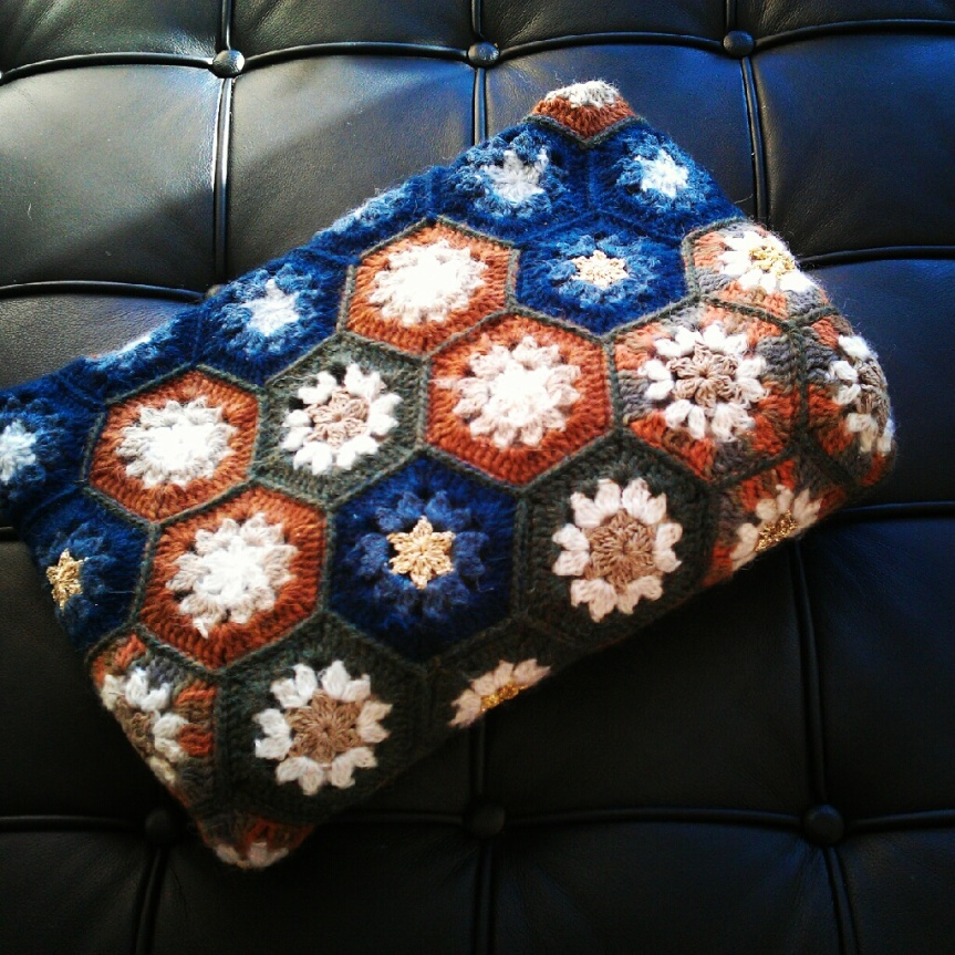 Star Anise Crochet Blanket