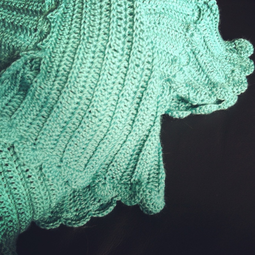 Sea-foam Baby Blanket – Woohoo for completedprojects!