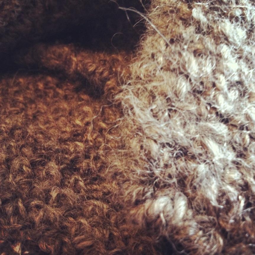 Grey Cowl: Close Up