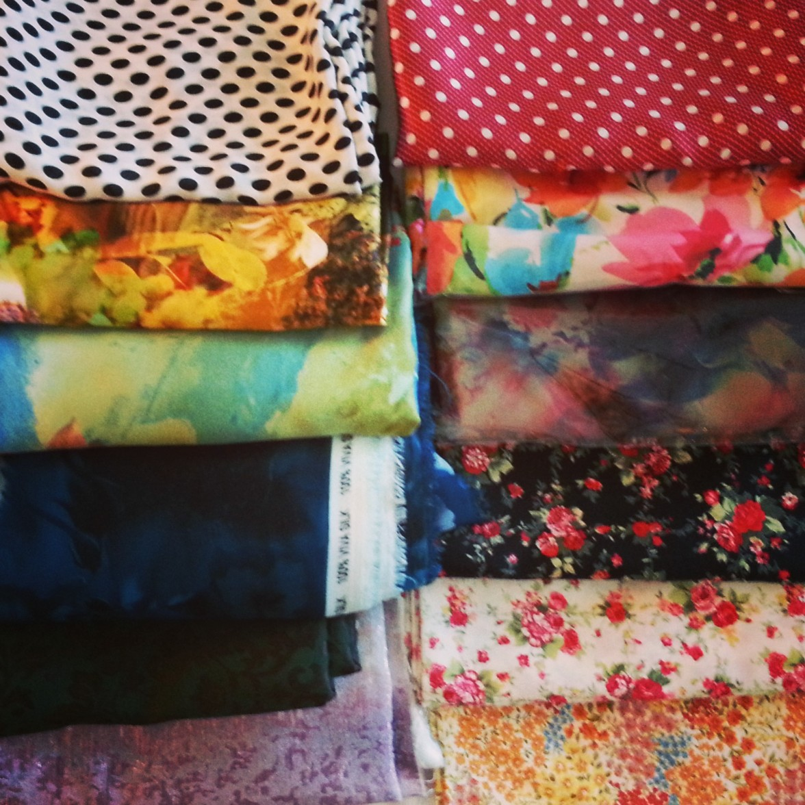 Fabric from Nilai-3 Wholesale District, Malaysia