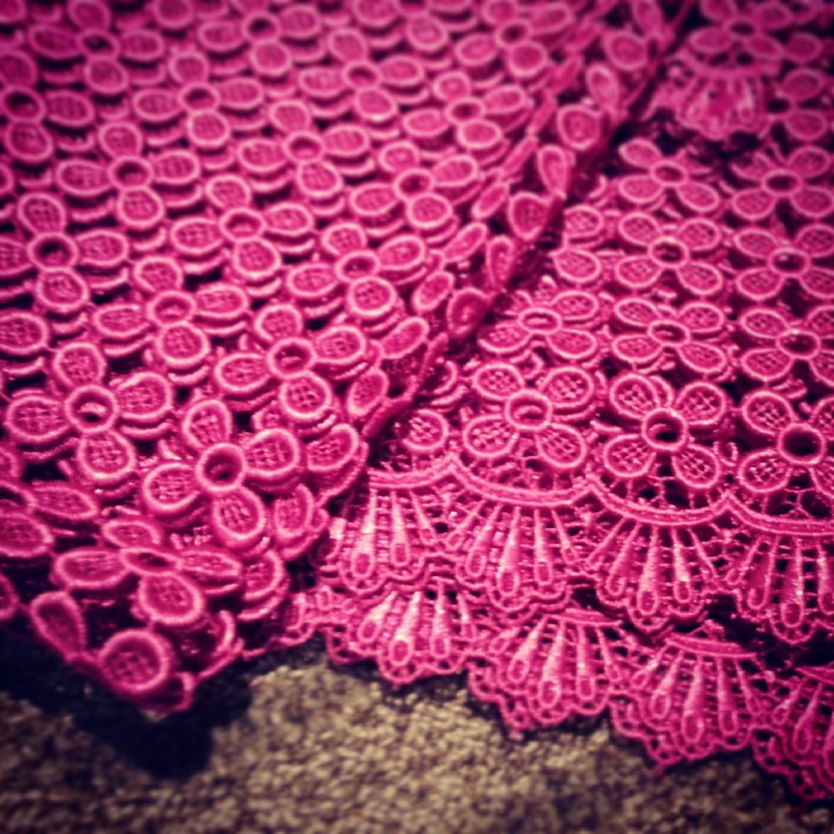 Cotton lace from Kamdar in Mid-Valley Mega Mall, Kuala Lumpar Malaysia