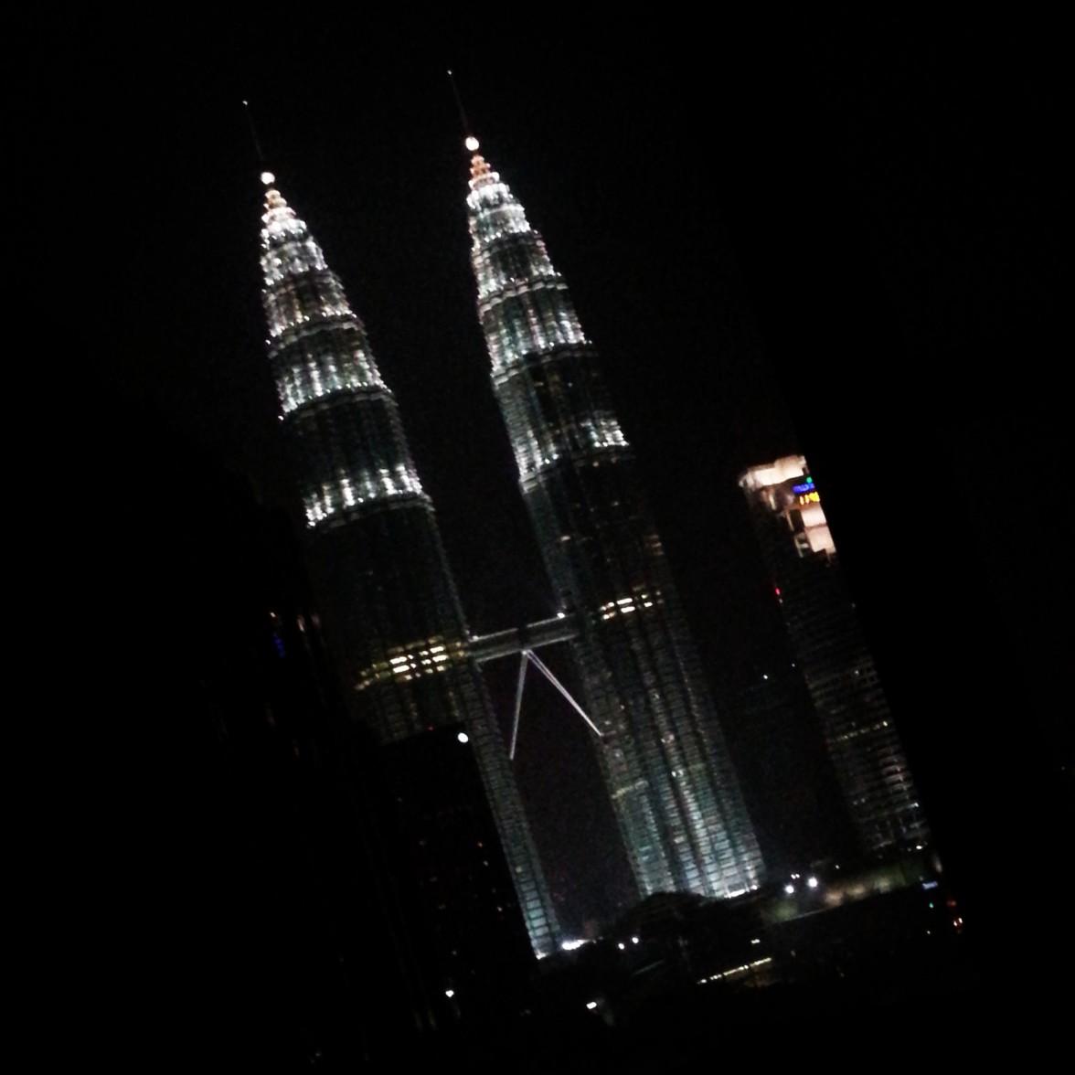 KLCC and the KL Towers, Kuala Lumpar Malaysia