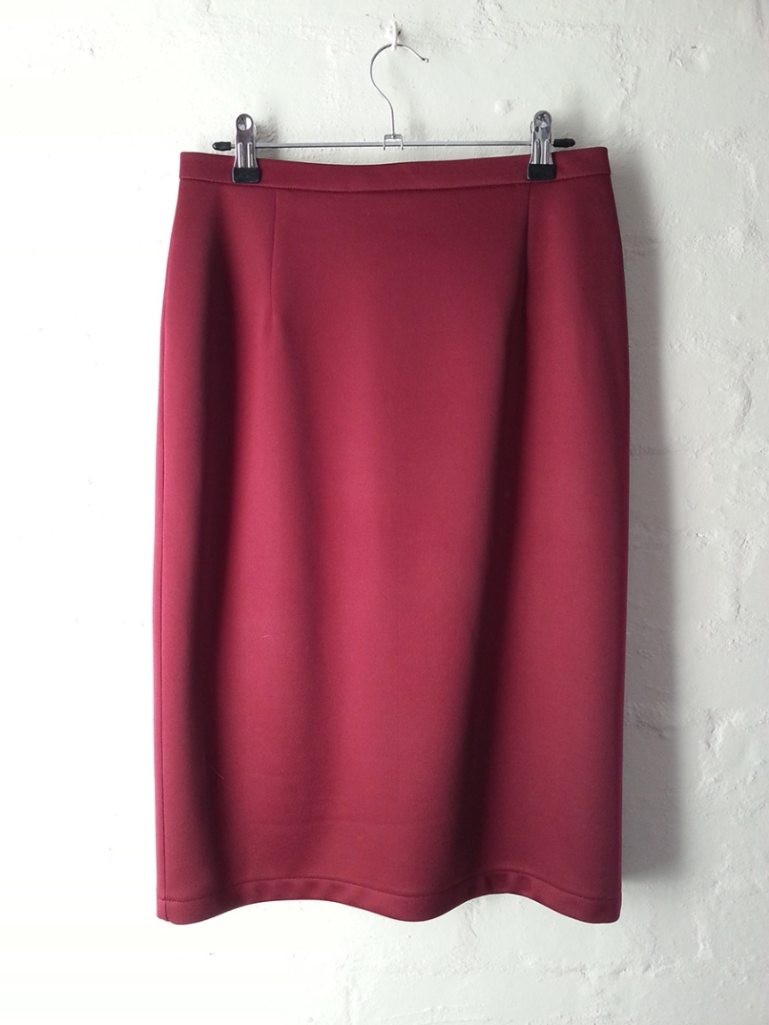 Bat Pencil Skirt - Front