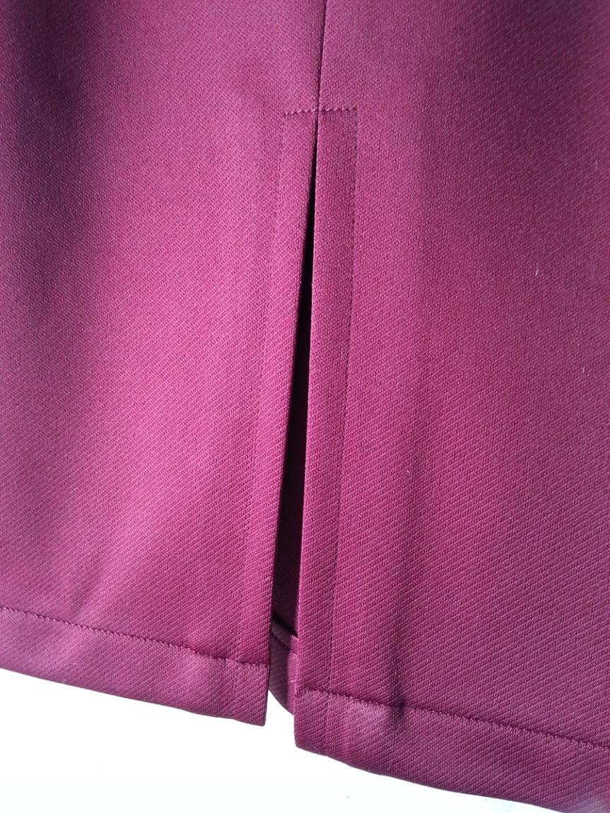 Bat Pencil Skirt - Back Vent