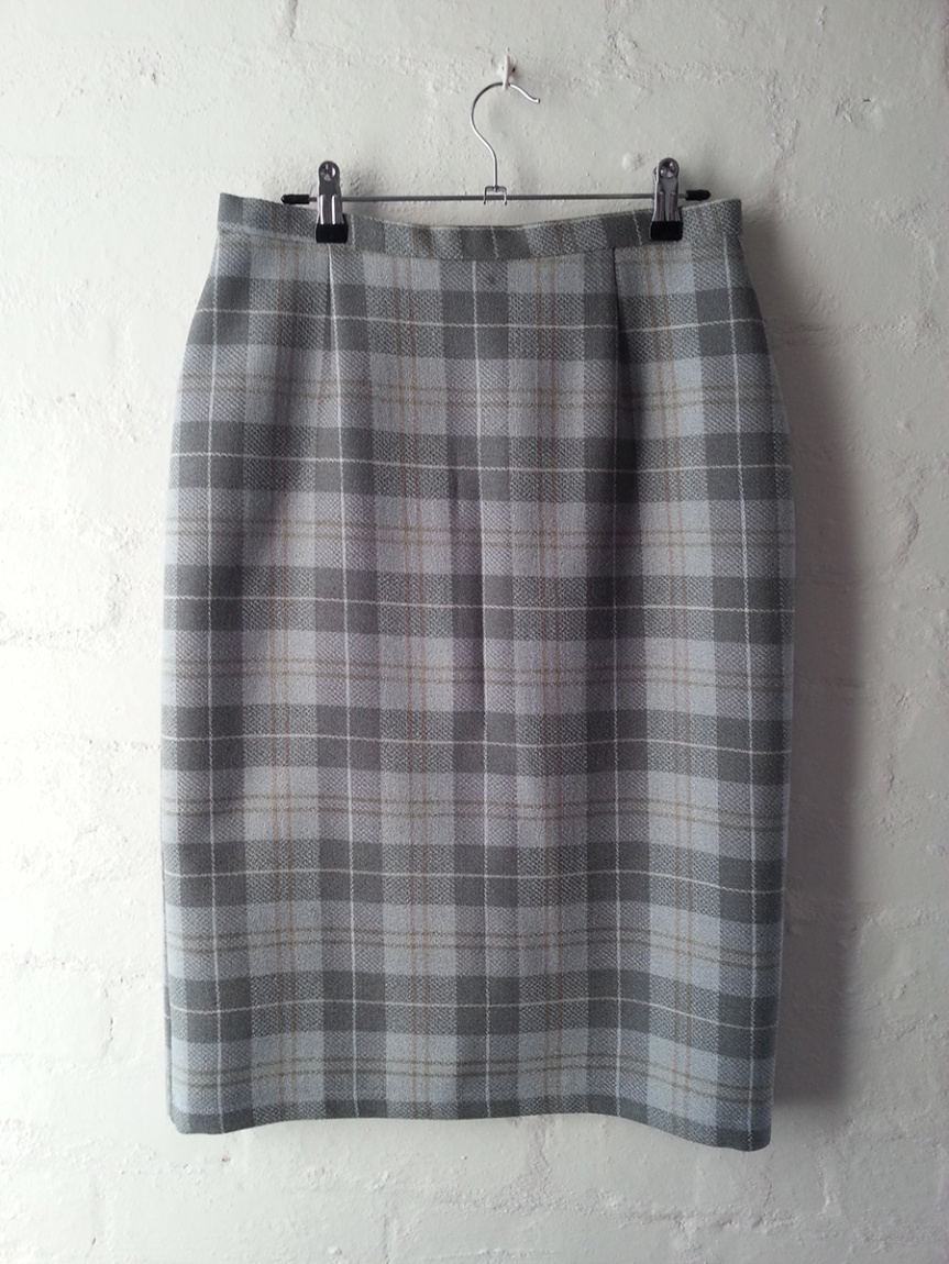 Grey Nomad Skirt - Front