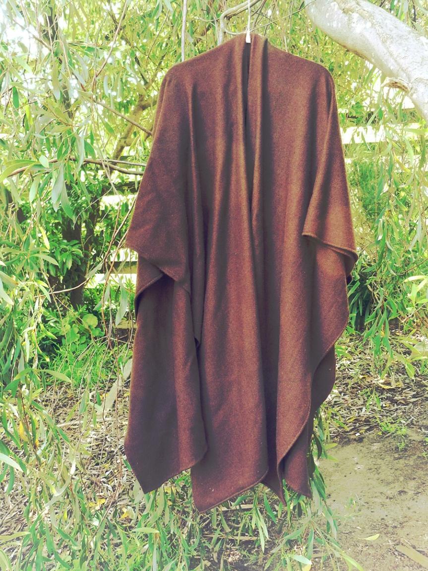 Completed: Woollen Croak Cloak