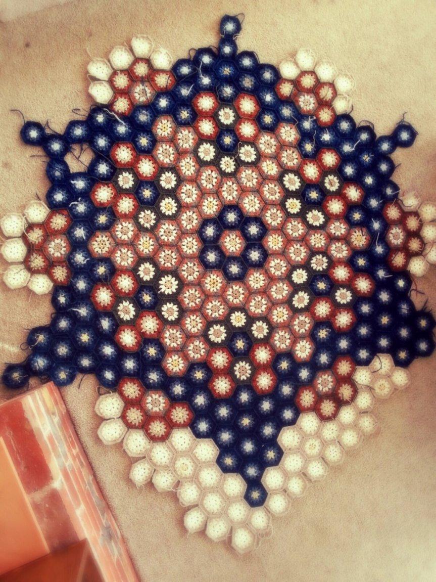 Star Anise Crochet BlanketUpdate!