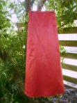 Sew 2012 #019: Red Satin Skirt