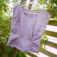 Sew 2012 #027: Purple Portrait Blouse