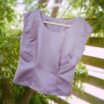 Sew 2012 #027: Purple Portrait Blouse