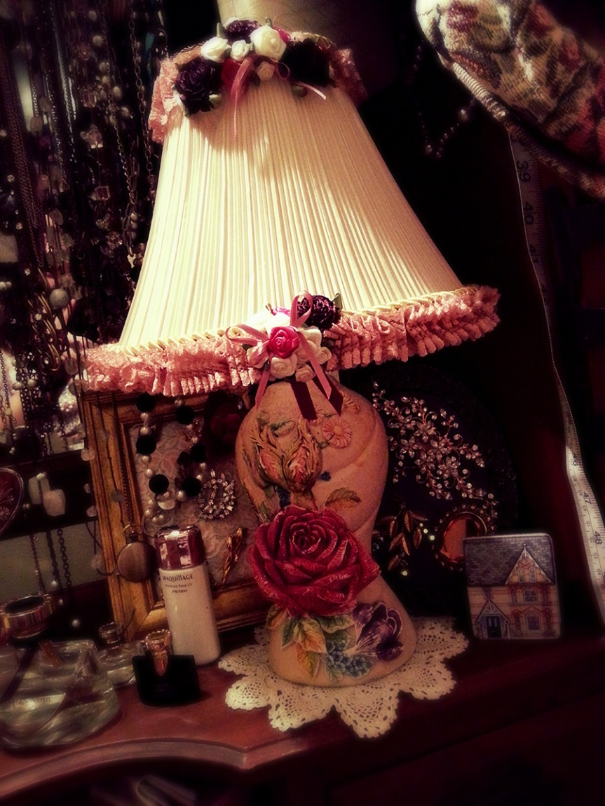 Lovely Lampshade: Ready for action