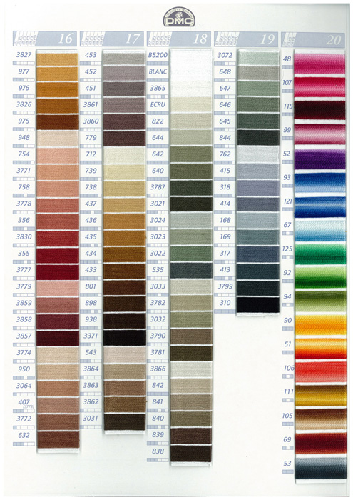 Thread Color Card 4